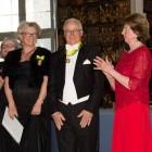 STOCKHOLM 20130409 Margareta och Tommy Malmsten tar emot Näringslivmedaljen 2013 ur prinsessan Désirées hand vid en ceremoni på Riddarhuset i Stockholm på tisdagen.Foto Jonas Ekströmer / SCANPIX kod 10030